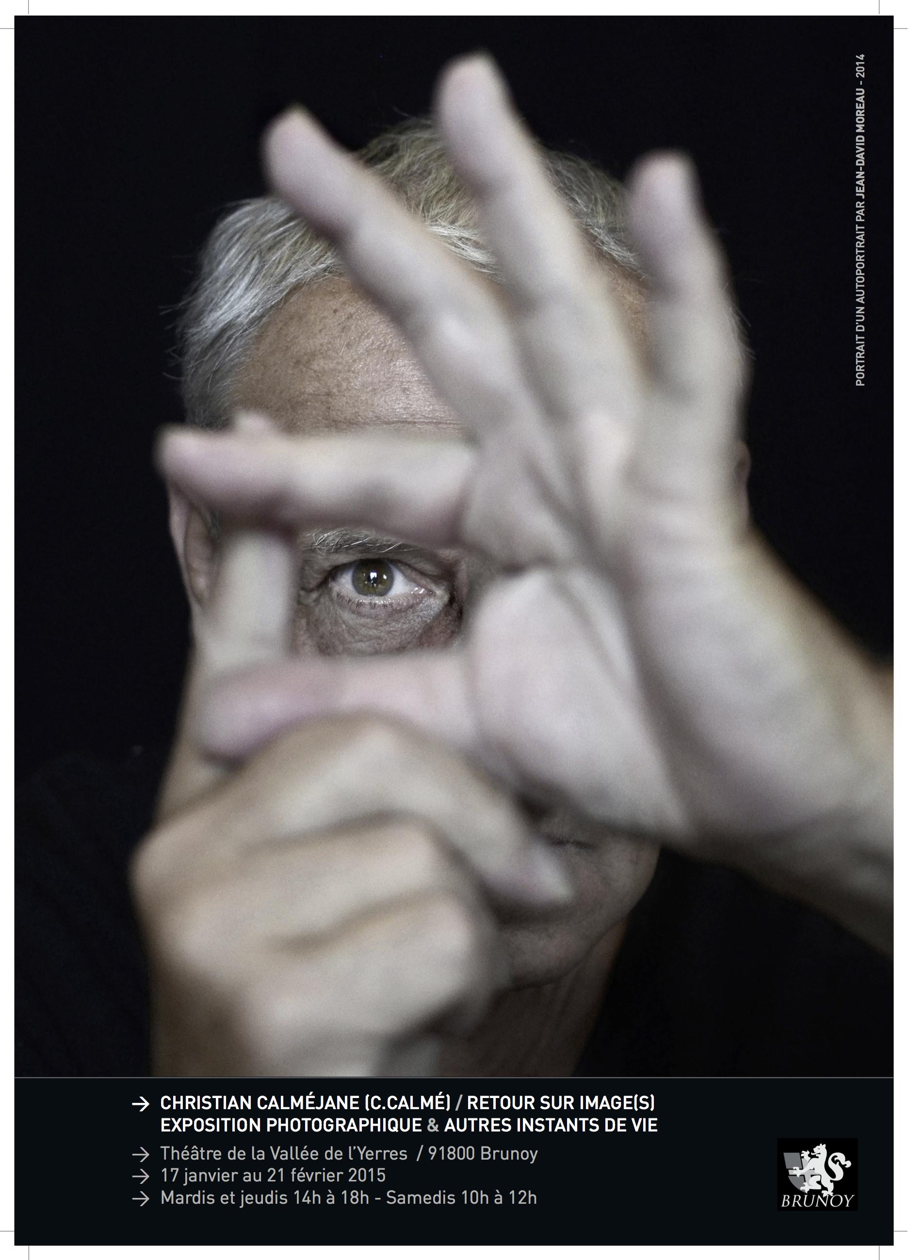 Ccalméjane portrait d'un autoportrait, par Jean-David Moreau (2014)